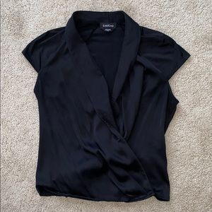 Black Bebe XS cap sleeve top